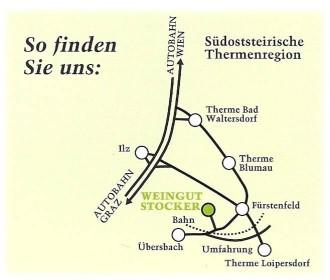 Fahrplan Weingut Johann Stocker, Anschrift Weinbaubetrieb Fürstenfeld,